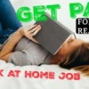 How To Make Money By Reading – $30-$60 per hour